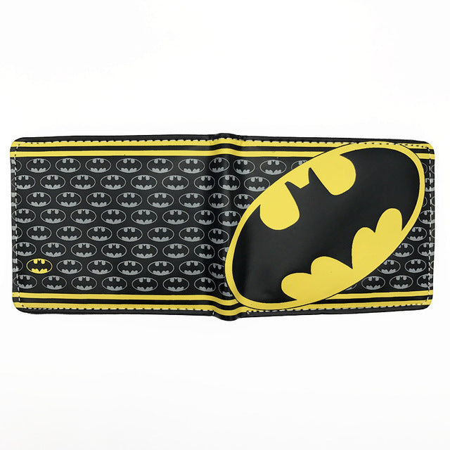 Hero Superman Batman Red Robin The Flash Captain America Black Panther Iron Man  FVIP Comics DC Wallet