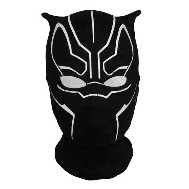 Superhero Black Panther Balaclava Full Face Mask