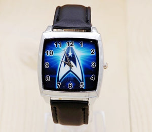 New Hot New Movie Theme Star Trek Leather Watches