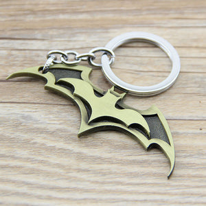 1PC Series Super Hero Batman Bat Keychain