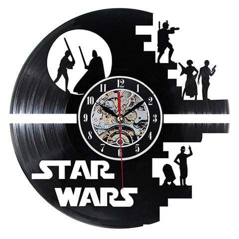 Image of STAR WARS  Clock CD Watches