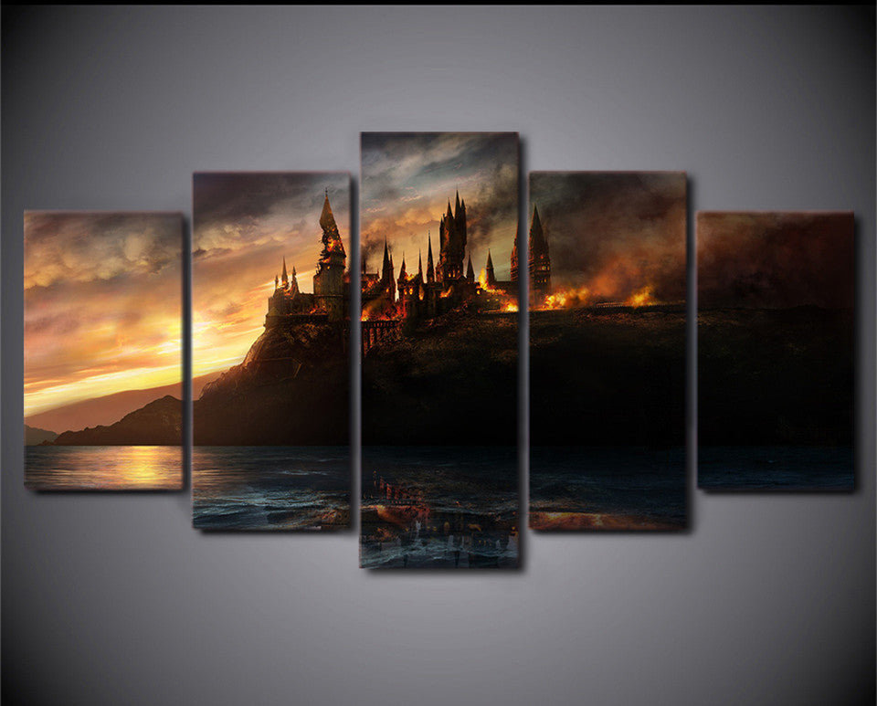 5 Piece  Harry Potter  Poster