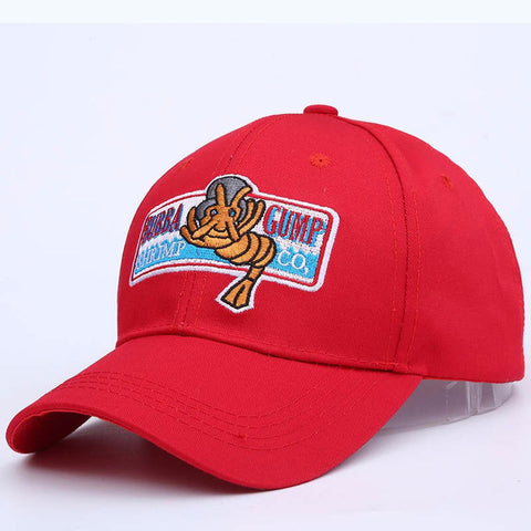 Image of Forrest Gump Hat Bubba Gump Shrimp CO. Baseball Hat