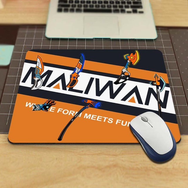 Borderlands Maliwan  Aming Personalized Durable Mouse Pad Mat Comfort Me Pads