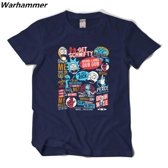 New  Rick and Morty T-shirt