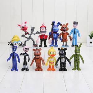 12pcs/lot Five Nights At Freddy's  Action Figure Toys
