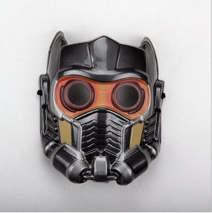 Guardians of the Galaxy Star Lord Mask Cosplay Helmet Glow Glass PVC Adult Version MaskToy