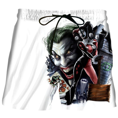 Image of Anime Suicide Squad Joker 3D Print Shorts