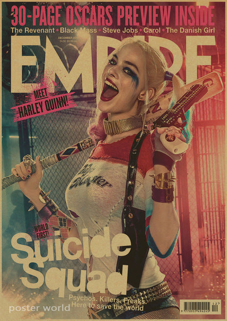Harley Quinn Suicide Squad Movie Poster