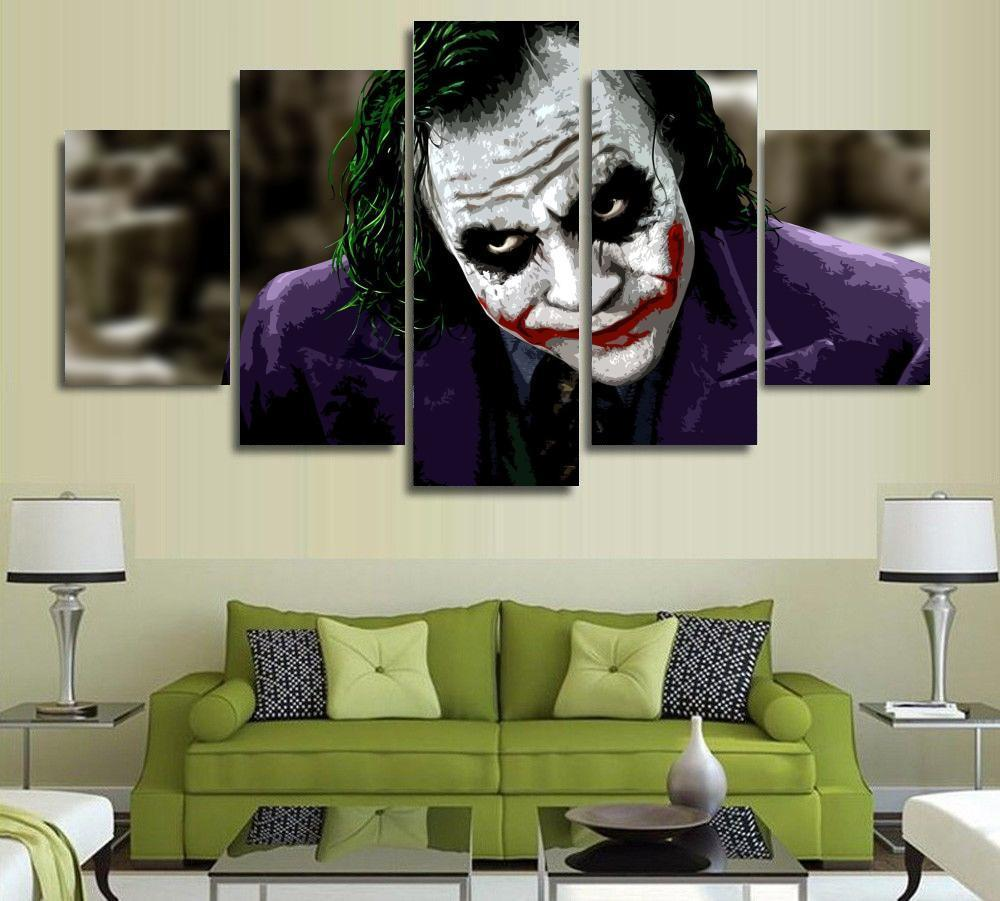 The Dark Knight Joker Wallart