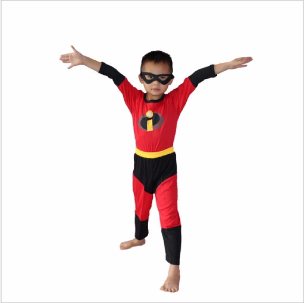 Boy The Incredibles Costume Halloween Costume For Kids Clothing Set