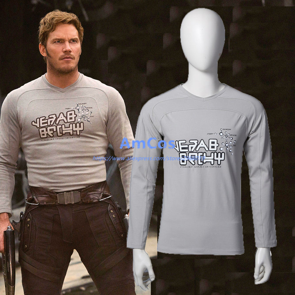 Guardians of the Galaxy 2 Peter Jason Quill Star Lord T-thirt
