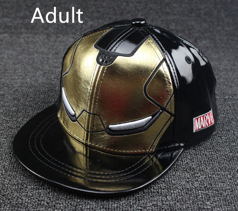 Image of Fall Winter New Iron Man cartoon fashion Snapback hats