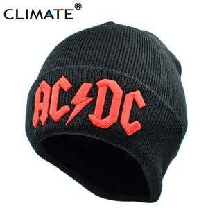 Hat Rock ACDC AC/DC Rock Band Warm Winter Soft Knitted Beanies