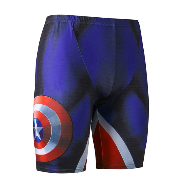 Captain American shorts