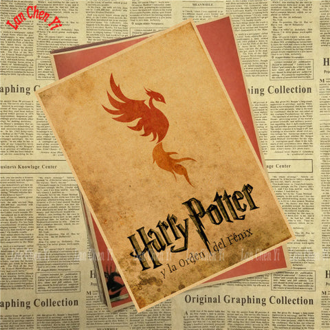 Image of Harry Potter Vintage Poster