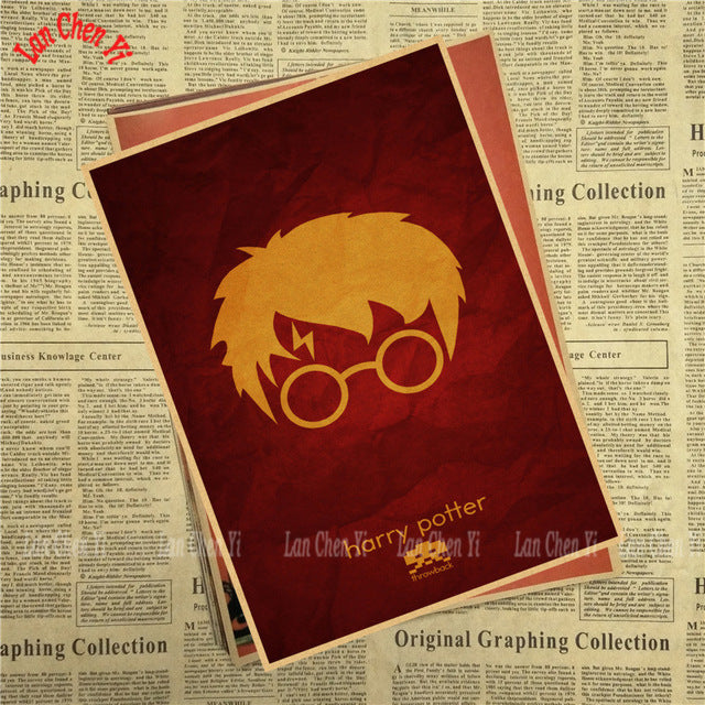 Harry Potter Vintage Poster