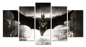 Batman 5 pieces canvas poster
