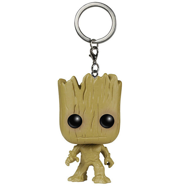 Rick And Morty Guardians of the Galaxy Keychain