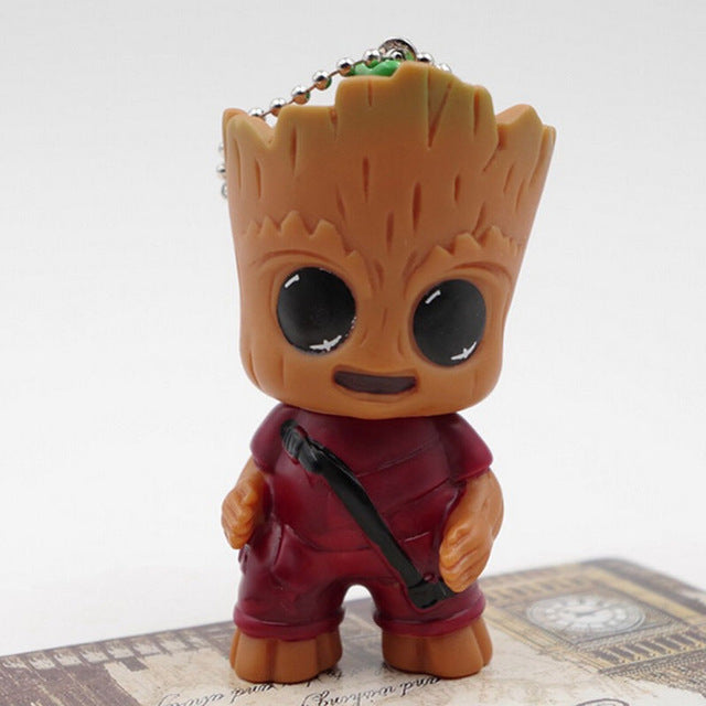 Guardians Of The Galaxy  Mini Baby Tree Model Action And Toy Figures Cartoon Pendant Dolls Toy Best Gifts For Gift