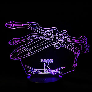 Star War Star Trek Atmosphere 3D  Night Light