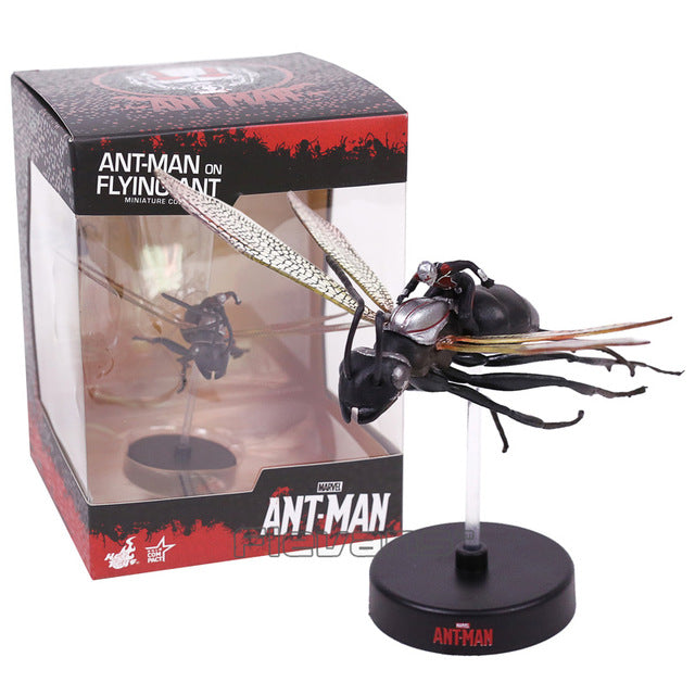 ANT MAN on Flying Ant Miniature Collectible PVC Figure Model Toy 8cm