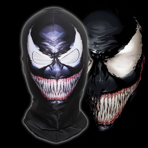 Image of The Amazing Spider-Man Venom Spiderman Full Face Mask