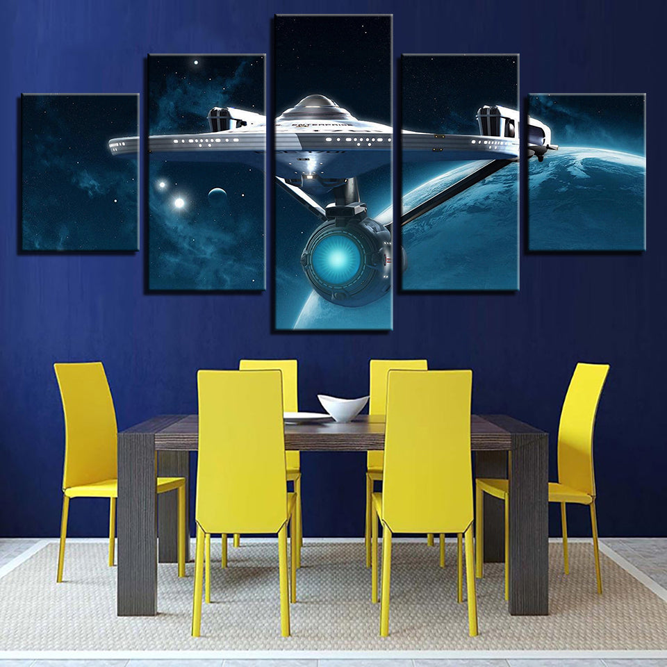 Star Trek Prints 5 Pieces  Poster