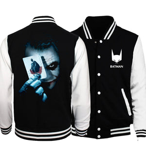 The Joker Poker print men jacket