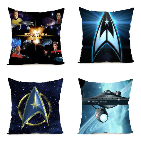 Image of 16x16inch/18x18inch/20x20 inch/24x24 Star Trek Pillow Cover