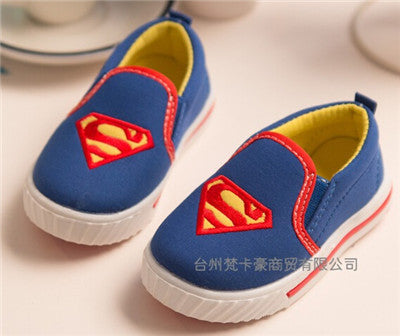 Image of Children Superman Spiderman Batman Shoes