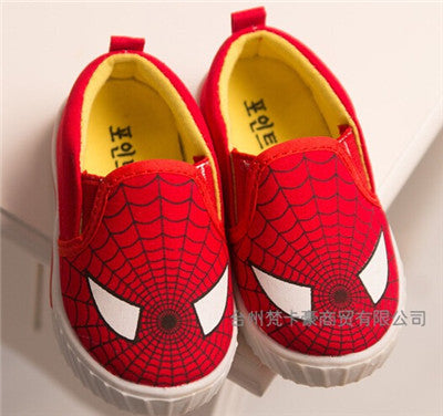 Children Superman Spiderman Batman Shoes