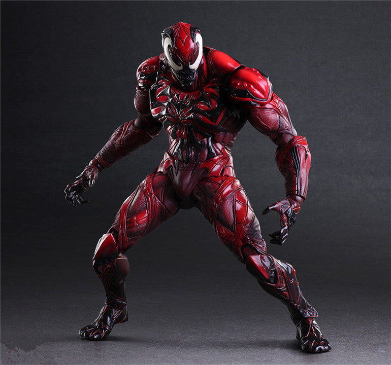 27cm red Venom Action Figure Model Toys