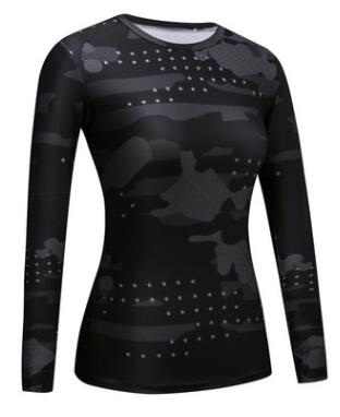Black Panther Women Captain America  Compression Shirt 3D Printed T-shirts