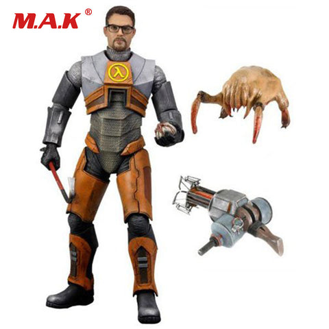 18cm  Half Life 2 Gordon Freeman Gravity Action Figure Model Toys Collections