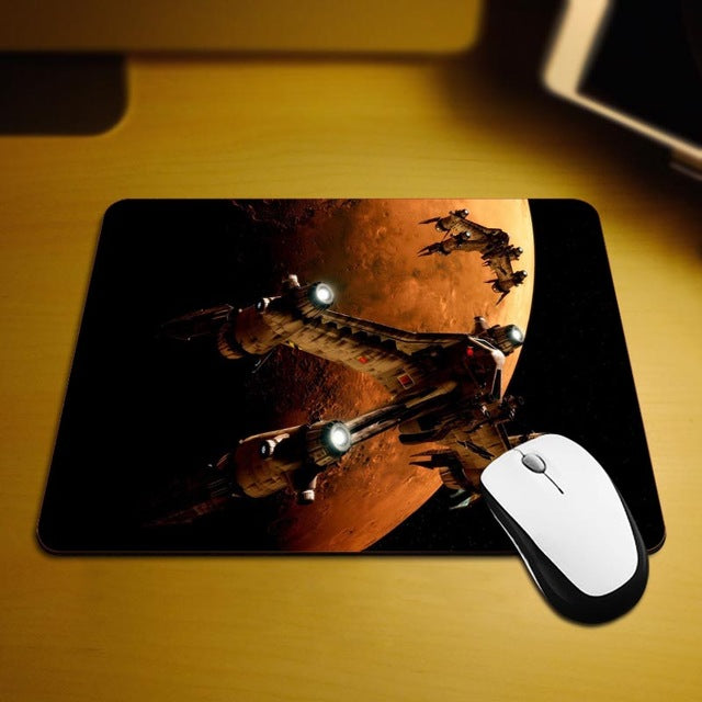 MaiYaCa Babylon 5 New Size Mouse Pad Non-Skid Rubber Pad 18*22cm and 25*29cm Mouse Mats