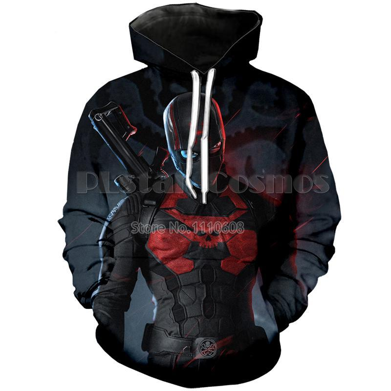 Infinity war Captain Hydra Marvel hero 3D Sweatshirt Hoodie