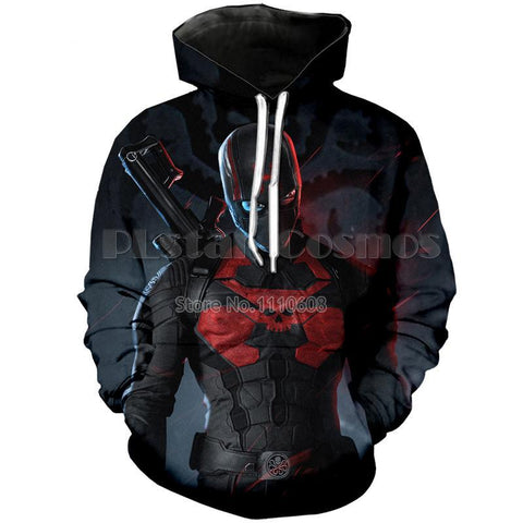 Image of Infinity war Captain Hydra Marvel hero 3D Sweatshirt Hoodie