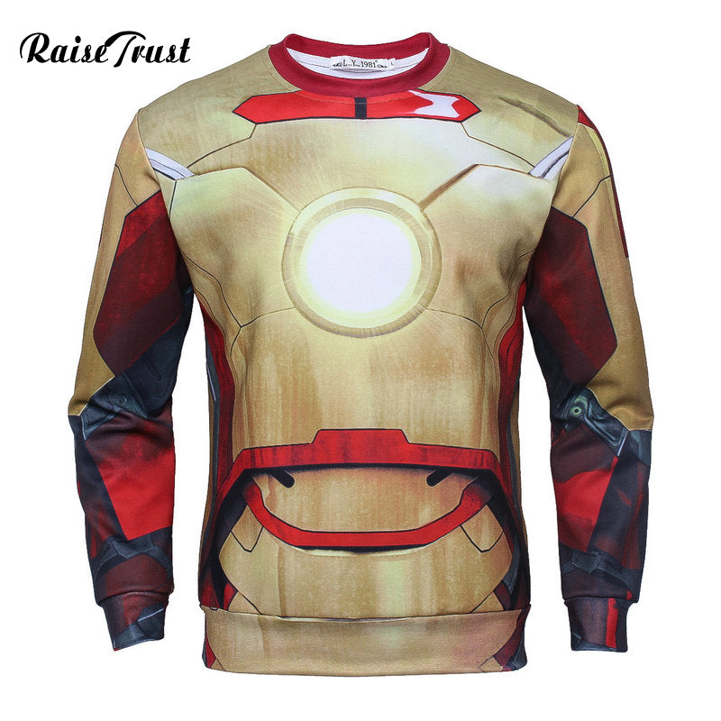 Iron man  long sleeves sweatshirt
