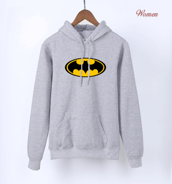 Batman Superman Female Hoodies  Sweatshirt