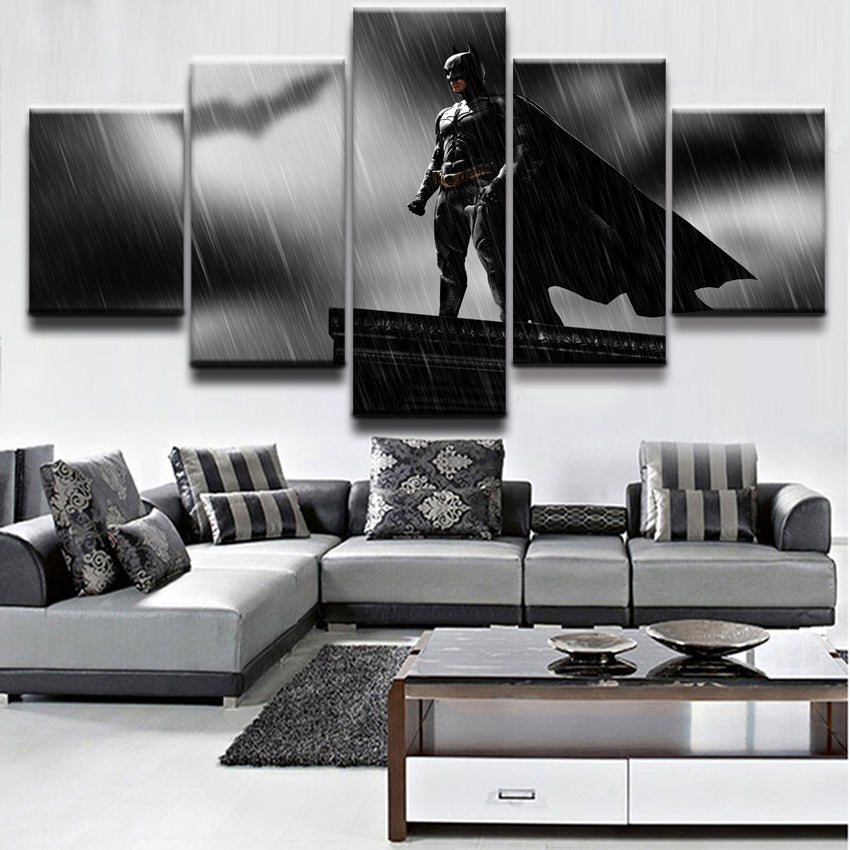 Batman Canvas Print  5 Pieces  Poster