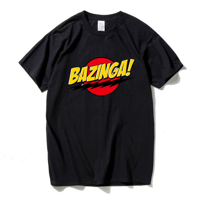 BAZINGA  The Big Bang Theory T-shirt