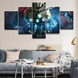 Avengers Infinity War  Canvas Pictures 5 Pieces Poster