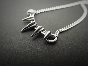 Black Panther Cosplay Necklace Ring Bracelet Accessories