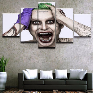 Joker Canvas 5 Pieces Poster