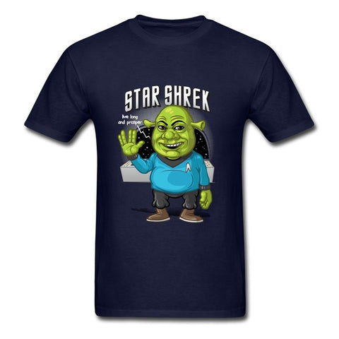 Image of Star Shrek Mens Short Sleeved T-Shirts