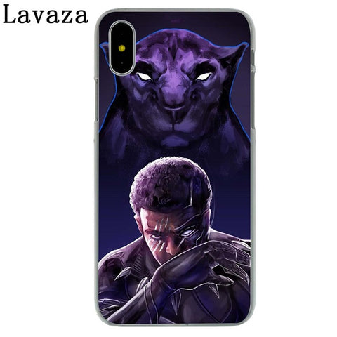 Image of Black Panther Hard Phone Case for Apple iPhone X 10 7 6 6s 8 Plus 4 4S 5 5S SE 5C