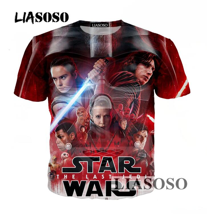 Star Wars 3D Print T Shirt