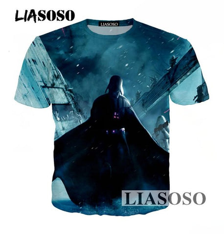Image of Star Wars 3D Print T Shirt