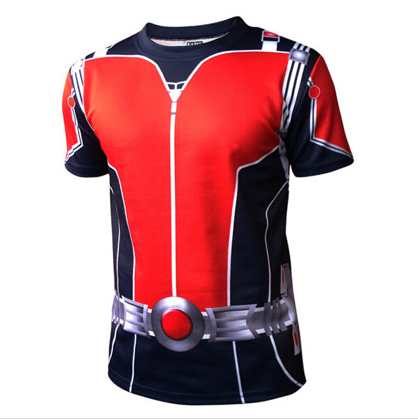 Avengers Superheroes Mens Ant-man Antman T-Shirt